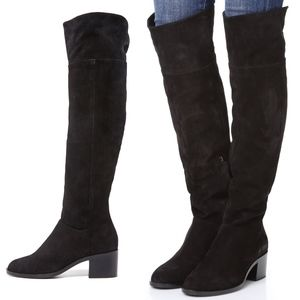 Rag & Bone Ashby Over-the-Knee Suede Boots